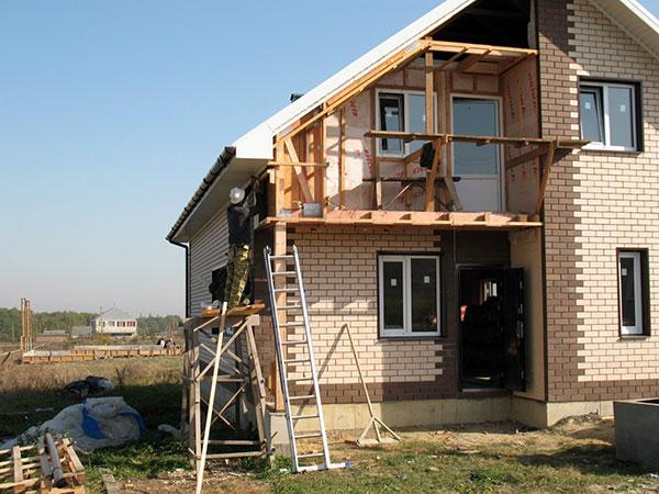 Дачные дома строительство своими руками